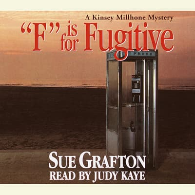 F Is for Fugitive by Sue Grafton audiobook