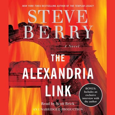 The Alexandria Link by Steve Berry audiobook
