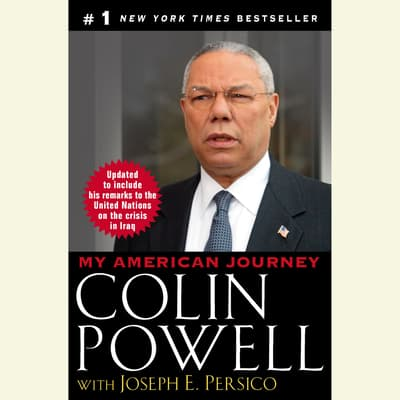 My American Journey by Colin L. Powell audiobook