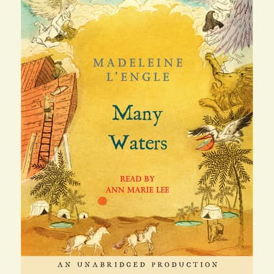 Many Waters by Madeleine L'Engle audiobook