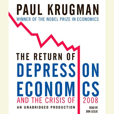 The Return of Depression Economics and the Crisis of 2008 by Paul Krugman audiobook