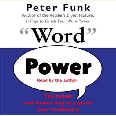 Word Power by Peter Funk audiobook