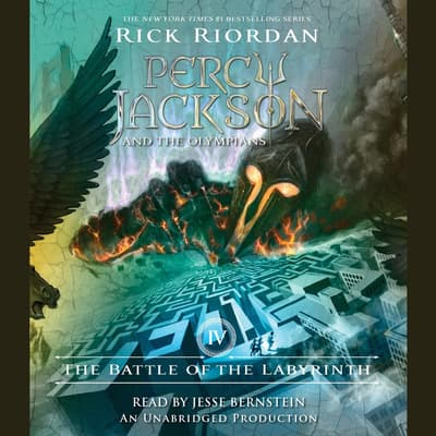The Battle of the Labyrinth by Rick Riordan audiobook