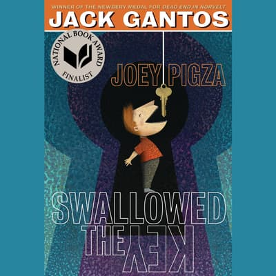 Joey Pigza Swallowed the Key by Jack Gantos audiobook