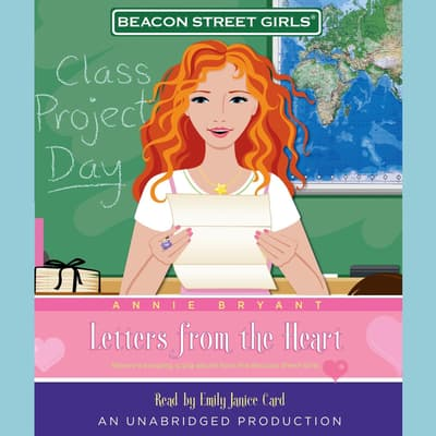 Beacon Street Girls #3: Letters From the Heart by Annie Bryant audiobook