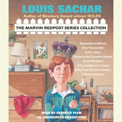 The Marvin Redpost Series Collection by Louis Sachar audiobook