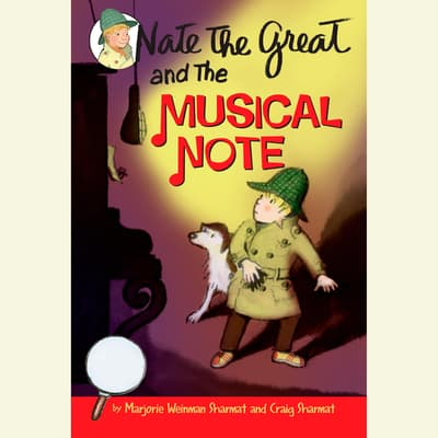 Nate the Great and the Musical Note by Marjorie Weinman Sharmat audiobook