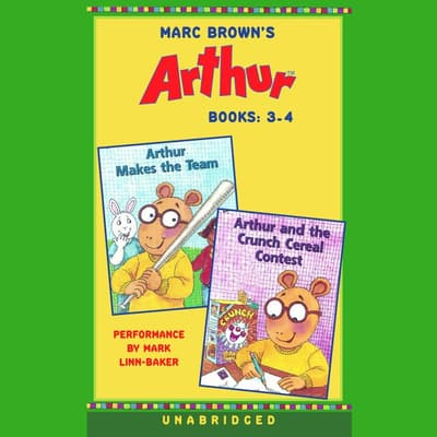 Marc Brown's Arthur: Books 3 and 4 by Marc Brown audiobook