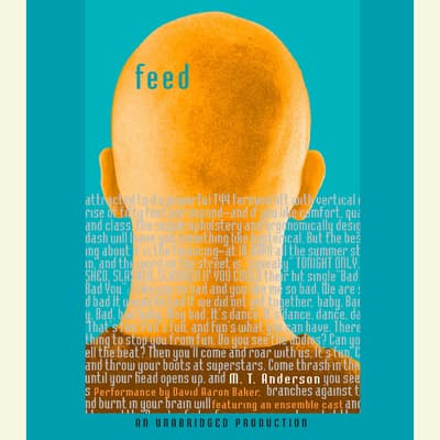 Feed by M. T. Anderson audiobook