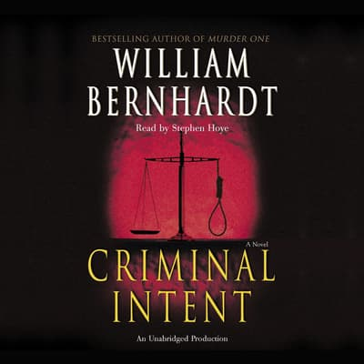 Criminal Intent by William Bernhardt audiobook