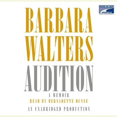 Audition by Barbara Walters audiobook