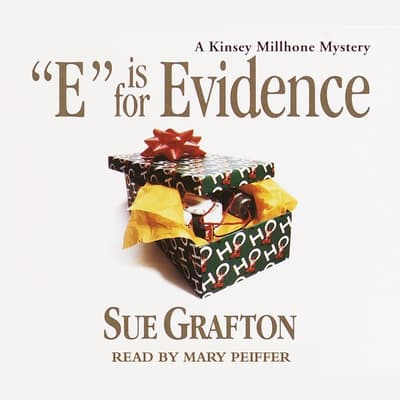 E Is for Evidence by Sue Grafton audiobook