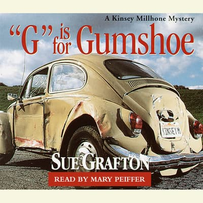 G Is for Gumshoe by Sue Grafton audiobook