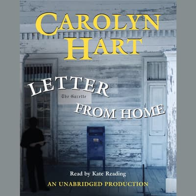 Letter From Home by Carolyn Hart audiobook