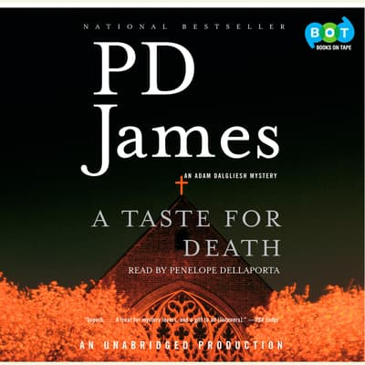 A Taste for Death by P. D. James audiobook