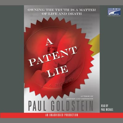 A Patent Lie by Paul Goldstein audiobook