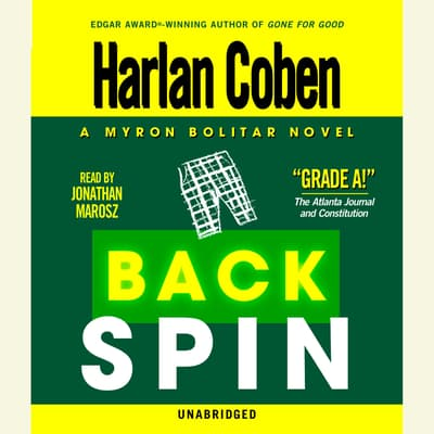 Back Spin by Harlan Coben audiobook