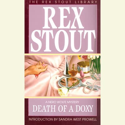 Death of a Doxy by Rex Stout audiobook