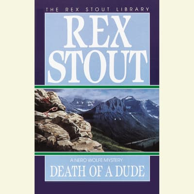 Death of a Dude by Rex Stout audiobook