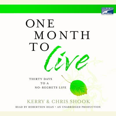 One Month to Live by Kerry Shook audiobook