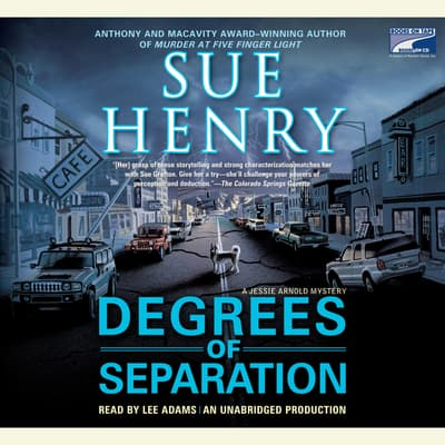 Degrees of Separation by Sue Henry audiobook