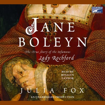 Jane Boleyn by Julia Fox audiobook