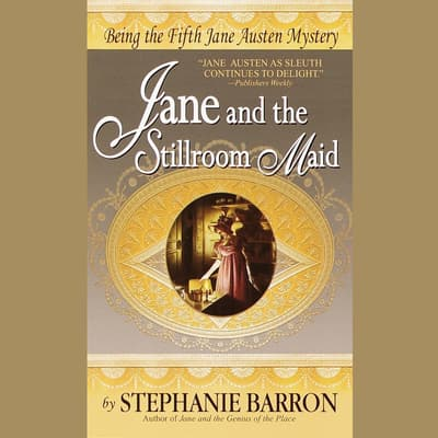 Jane and the Stillroom Maid by Stephanie Barron audiobook