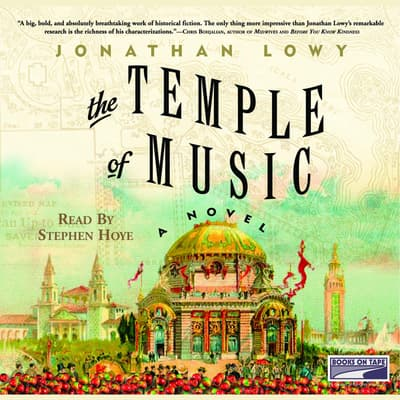 The Temple of Music by Jonathan Lowy audiobook