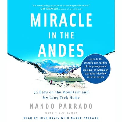 Miracle in the Andes by Nando Parrado audiobook