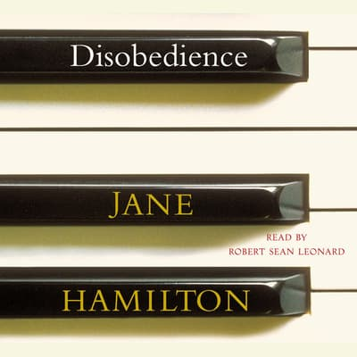 Disobedience by Jane Hamilton audiobook