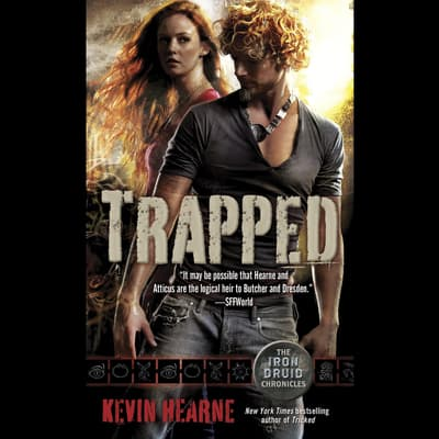 Trapped by Kevin Hearne audiobook