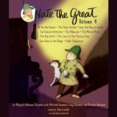 Nate the Great Collected Stories: Volume 4 by Marjorie Weinman Sharmat audiobook