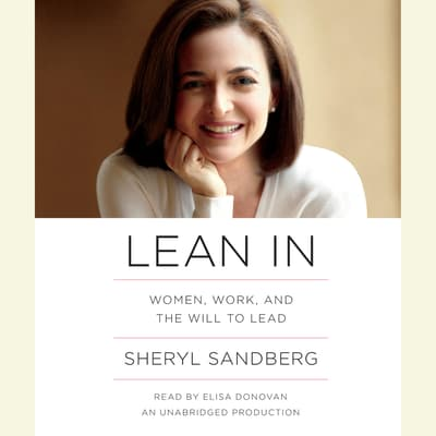 Lean In by Sheryl Sandberg audiobook