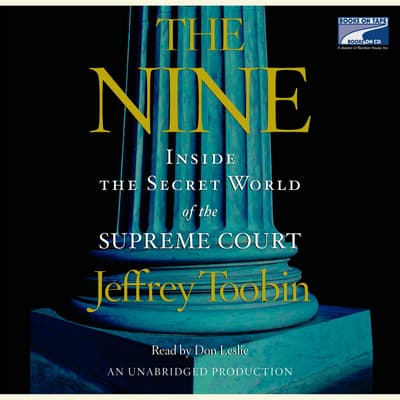 The Nine by Jeffrey Toobin audiobook