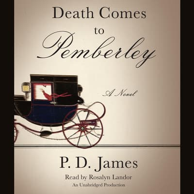 Death Comes to Pemberley by P. D. James audiobook