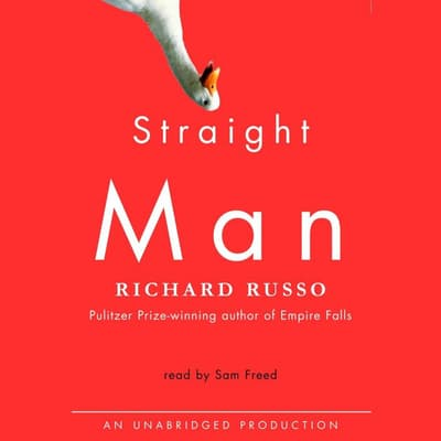 Straight Man by Richard Russo audiobook