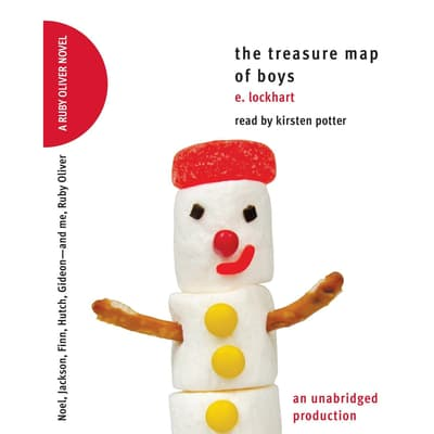 The Treasure Map of Boys by E. Lockhart audiobook