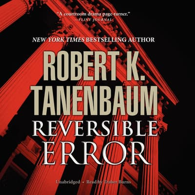Reversible Error by Robert K. Tanenbaum audiobook