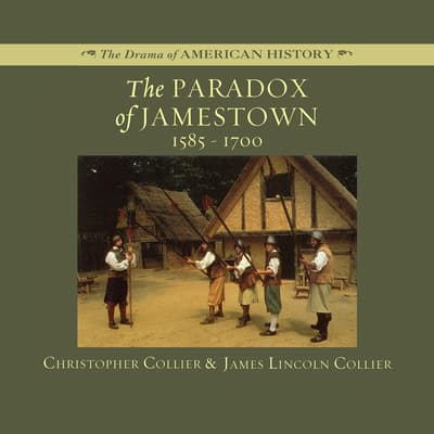 The Paradox of Jamestown by Christopher Collier audiobook