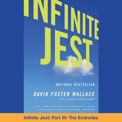 Infinite Jest by David Foster Wallace audiobook