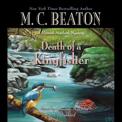 Death of a Kingfisher by M. C. Beaton audiobook
