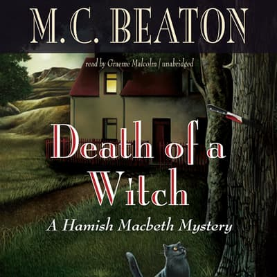 Death of a Witch by M. C. Beaton audiobook