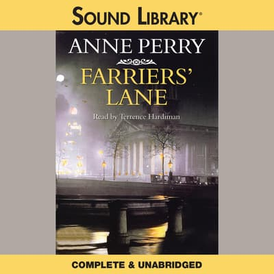 Farriers' Lane by Anne Perry audiobook