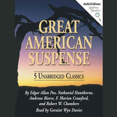Great American Suspense by various authors audiobook
