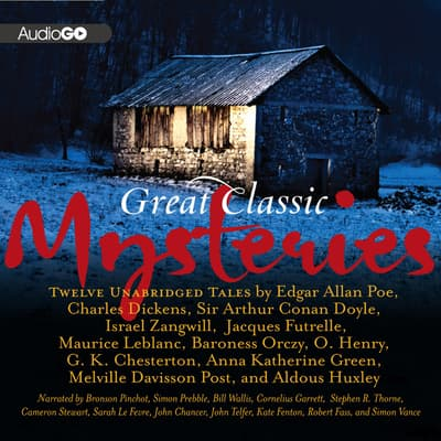 Great Classic Mysteries by various authors audiobook