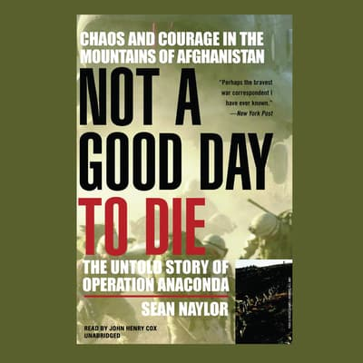 Not a Good Day to Die by Sean Naylor audiobook