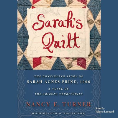 Sarah's Quilt by Nancy E. Turner audiobook