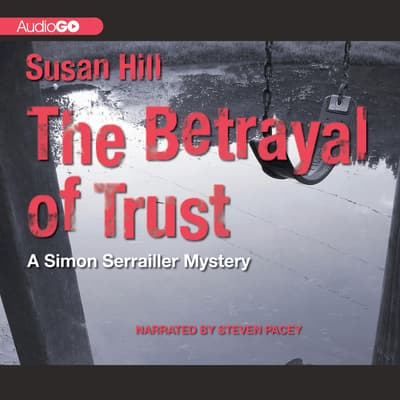 The Betrayal of Trust by Susan Hill audiobook