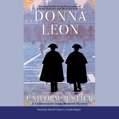 Uniform Justice by Donna Leon audiobook