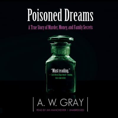Poisoned Dreams by A. W. Gray audiobook